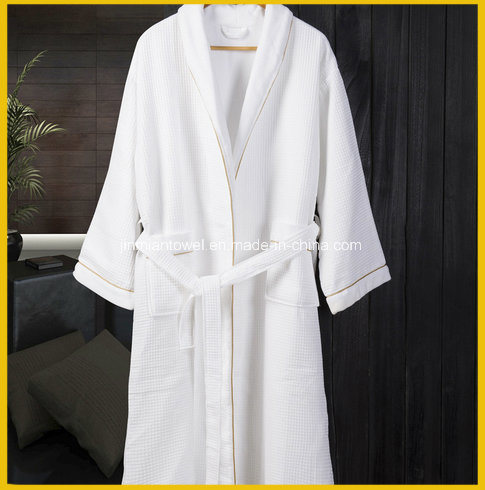 Wholesale Terry Hotel Bathrobe with Embroidered Logo