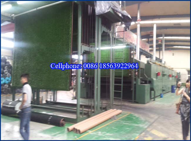 Plastic Artificial Turf Lawn Production Machine Line