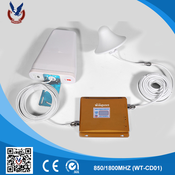 Hot New CDMA/Dcs Indoor Signal Booster 3G/4G Wholesale Home Repeater