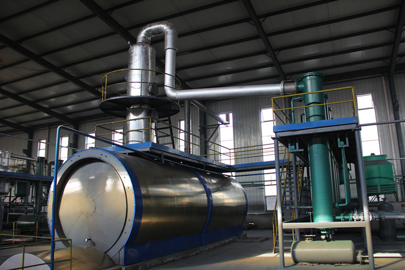 European Standard Crude Oil Distillation Equipment with CE, SGS, ISO