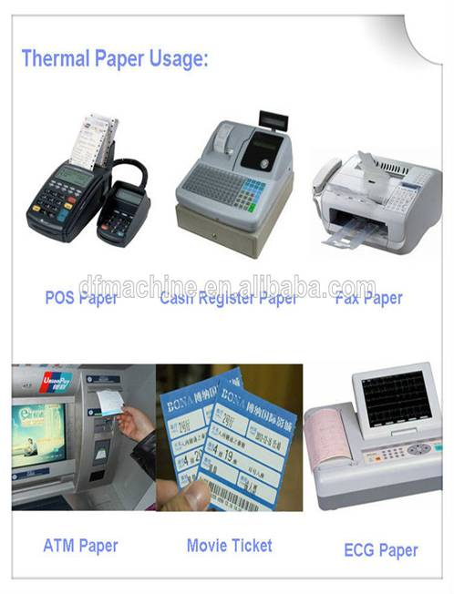 Cutting Machine for Thermal Paper Mills