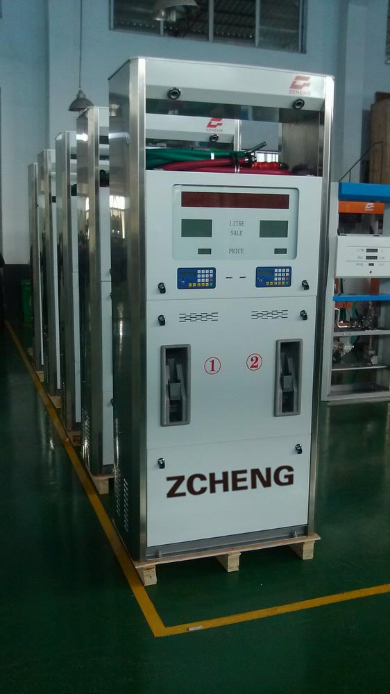 Zcheng Fuel Dispenser with 4 Nozzles