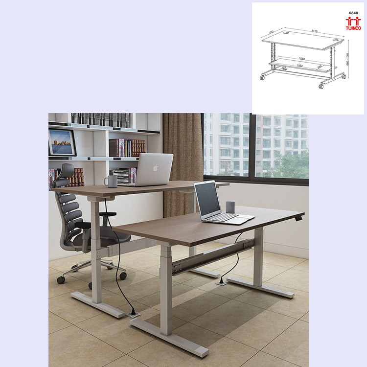 Factory Wholesale Computer Desk with Low Price Office Table Workstation Computer Table