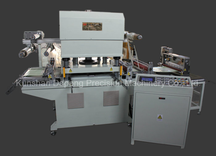 Hydraulic Press Automatic Aluminum Foil Label Die Cutting Machine (DP-650)