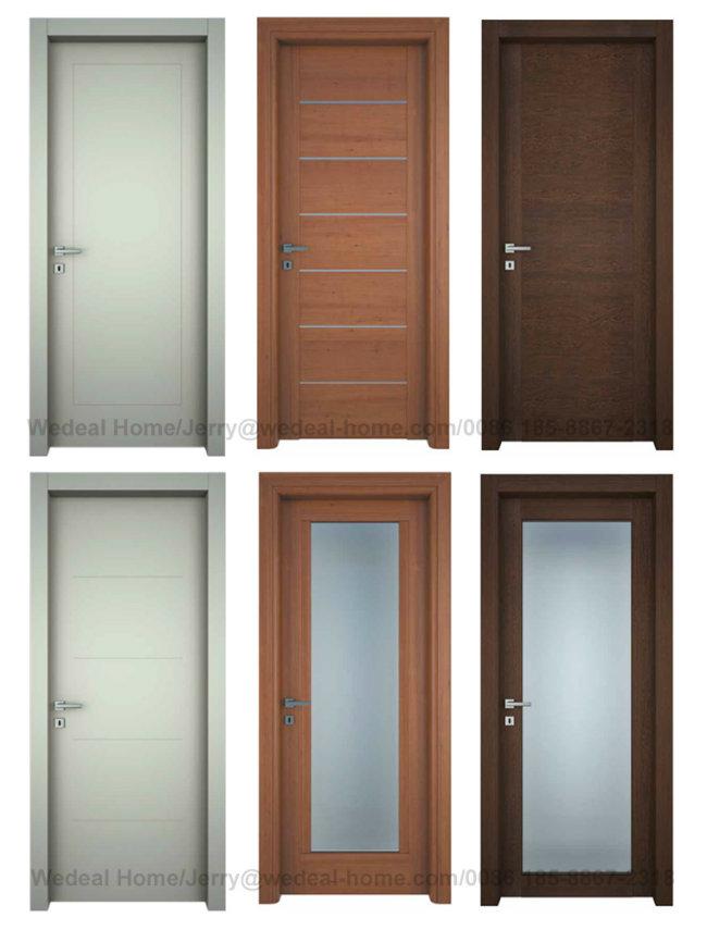 Classical Internal Veneer Flush MDF Door for Project