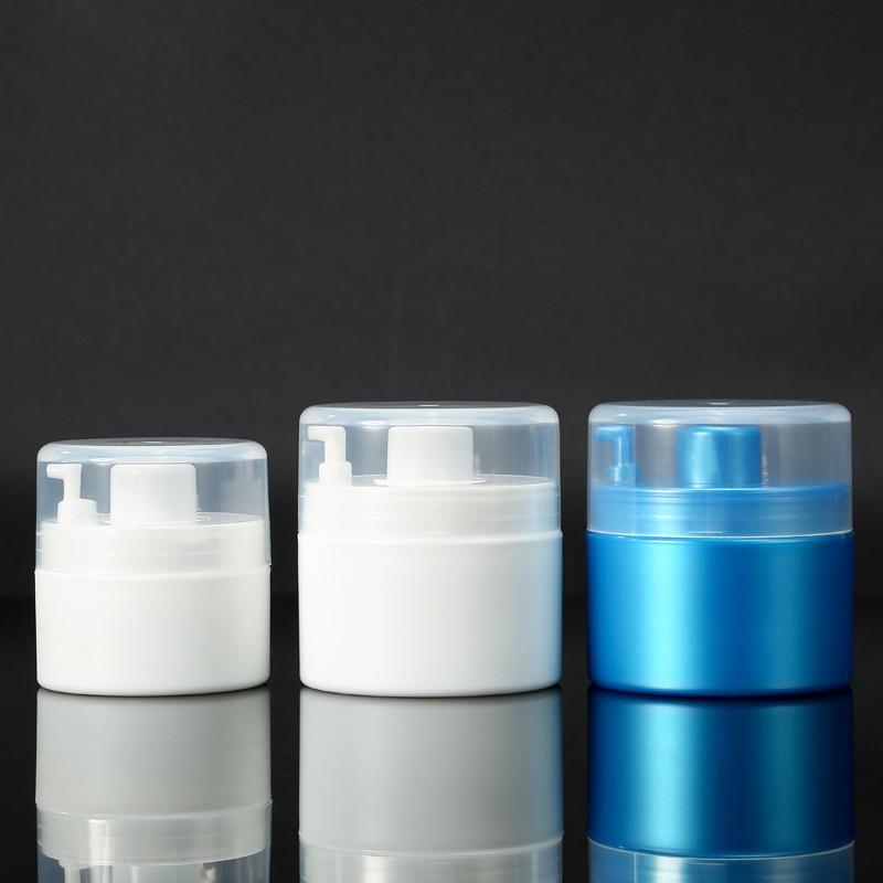 25ml 30g Ml 50ml PP Single Wall Airless Jar for Cream