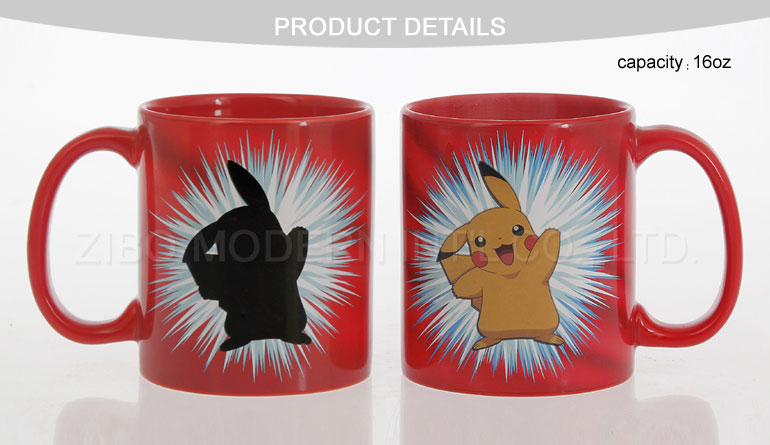 Wholesale Prices Color Changed Design Ceramic Magic Mug for Sale