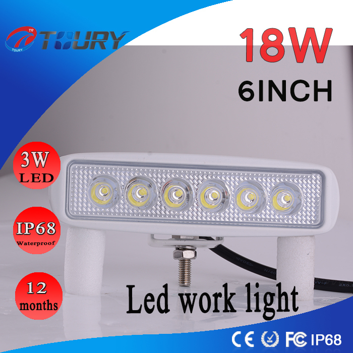 CREE 18W 6inch Offroad LED Light Bar for Car