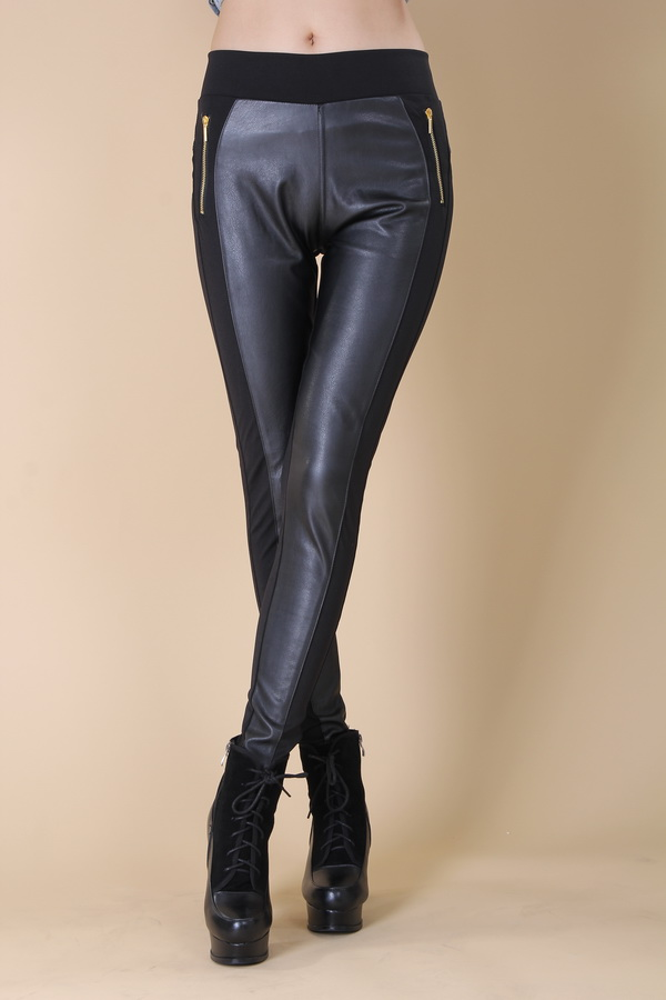 Women Leather Pants Factory