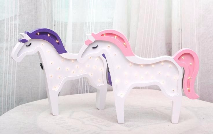 Animal Unicorn Energy Saving Lamp