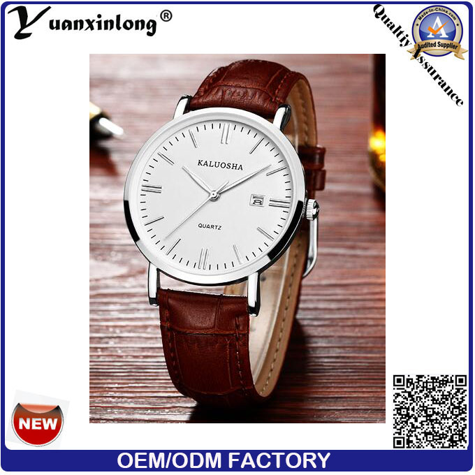 Yxl-011 Custom Logo Wholesale Real Leather Strap Women Watch, Hot Sell Dw Watch