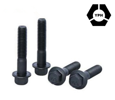 Carbon Steel Factory Supplier DIN6921/ASME/ANSI Standard Shoulder Hex Flange Bolt