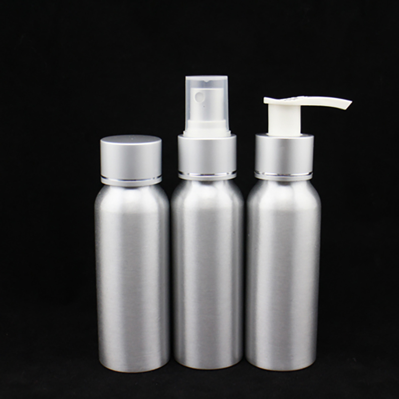 Aluminum Travel Set, Screw Cap Bottle (NTR01)