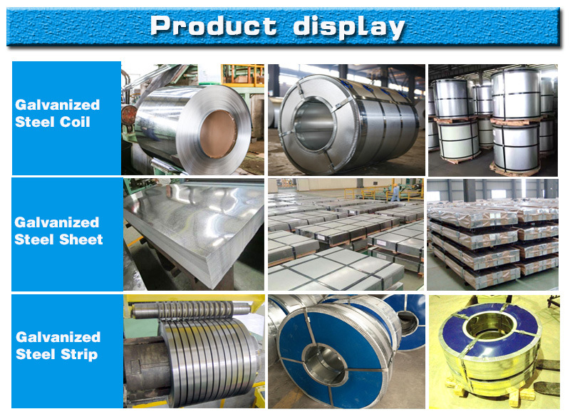 SGCC, Dx51d, S220gd, Q195 Hot Dipped Galvanized Coil for Construction Field