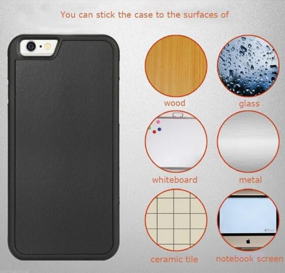 iPhone 6 /6s Case, Nb-Magic, Magic Anti-Gravity Material Sticks to Any Smooth Surface, Magical Nano Sticky for iPhone Case for iPhone7/ 6 /6s 4.7 Inch,