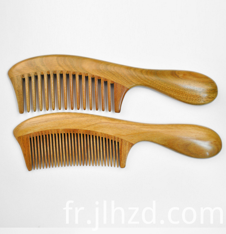Natural Round Comb