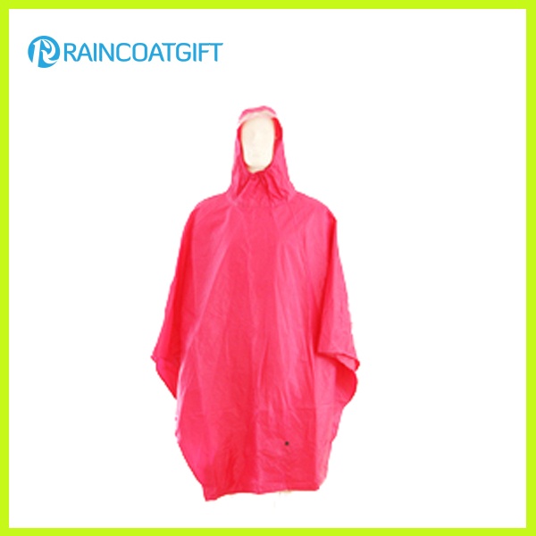 Adult Round Shape PVC Raincoat Rvc-006