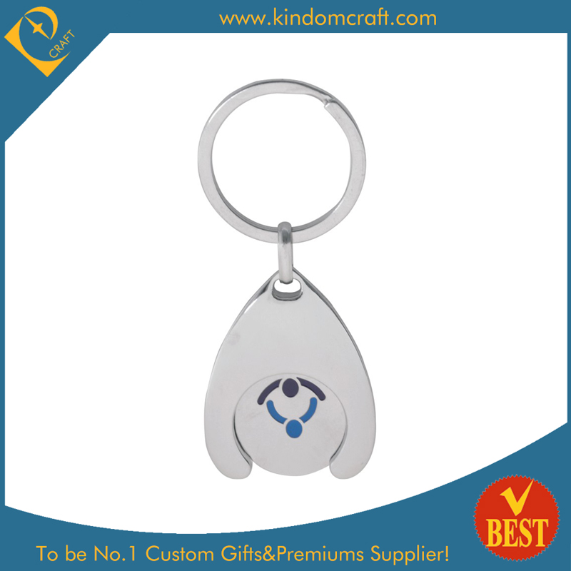 Custom Trolley Coin Keyholder with Tokens