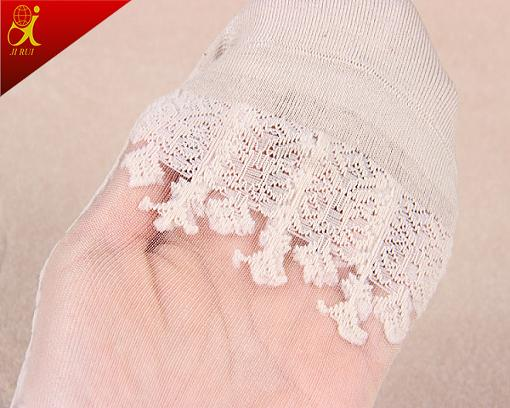 Cystom Women Summer Wear Transparent Sheer Slik Socks