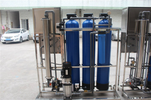 1tph Flow Minral Water Plant by Reverse Osmosis UF System