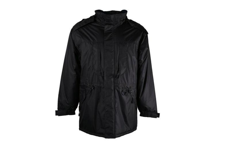 Heavy Duty Mens Navy Waterproof Winter Parka Coat