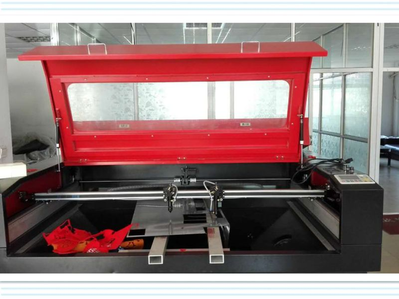 Two Heads Laser Engraving and Cutting Machine