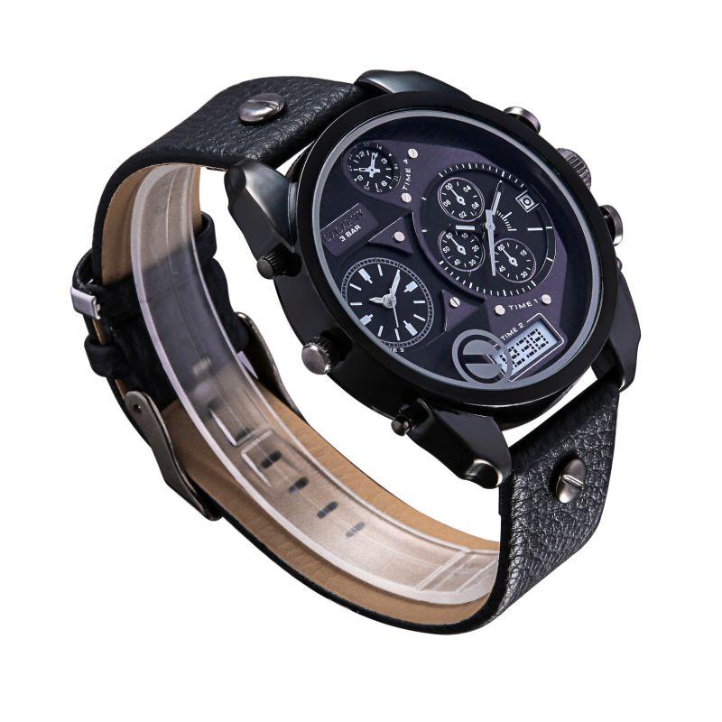 fashion Double Movement Mutl-Function Watch