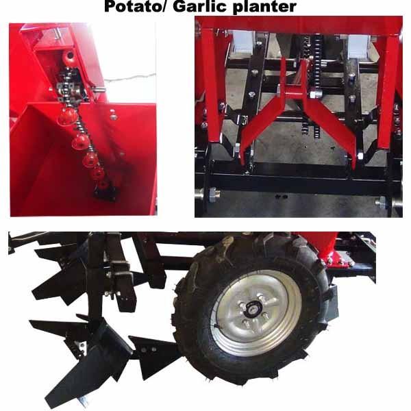Potato Seeder 3 Point Potato Planter Machine