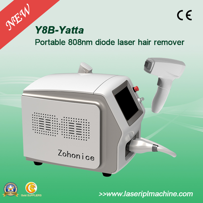 Portable 808nm Diode Laser Hair Remoal Machine with Germany Bar