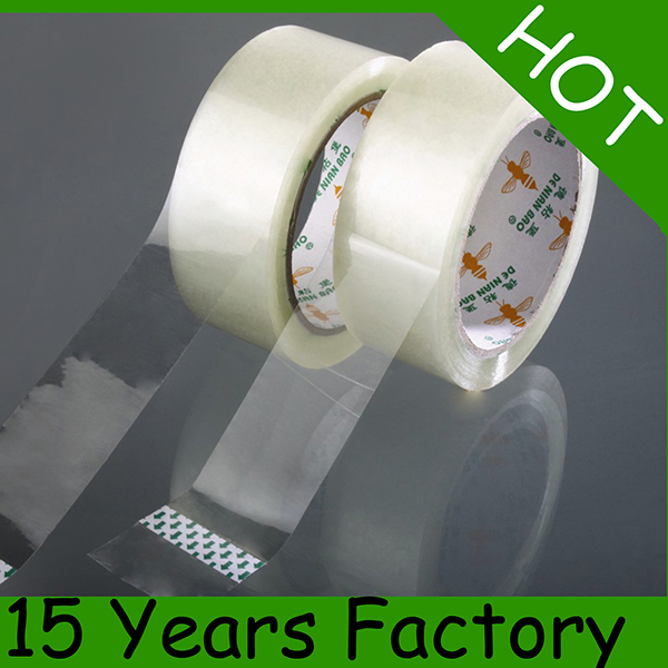 40mic Transparent BOPP Tape Jumbo Roll, OPP Tape Roll