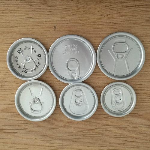 Aluminum Beverage Can Lids 50mm 200 Size Easy Open Lid
