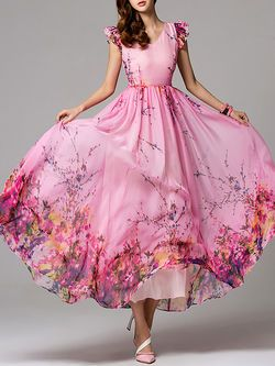 Beautiful Wax Chiffon Print Fabric for Dress/Garment/Abaya