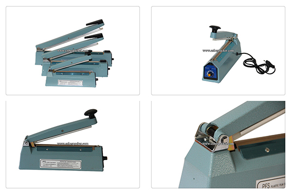 Aluminum Body Hand Paper Sealing Machine