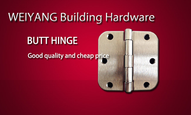 3 Inch Template Butt Hinge Furniture Hardware with UL Certificate