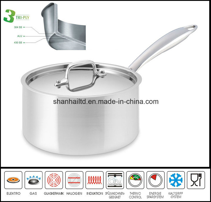 All-Clad Stainless Steel Deep Sauce Pan Saucepans