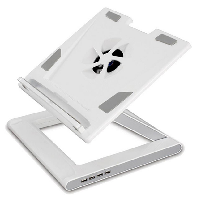 Notebook Cooling Stand with USB 2.0 4 Ports Hub