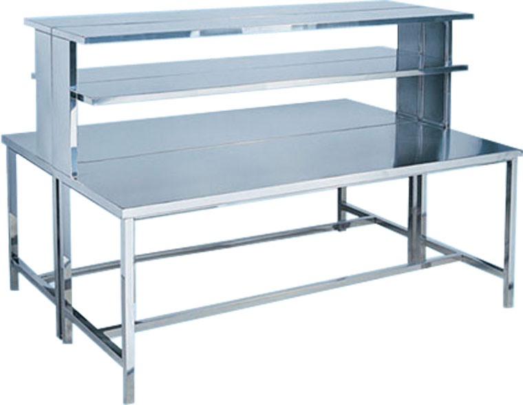 Stainless Steel Hospital Table and Working Station