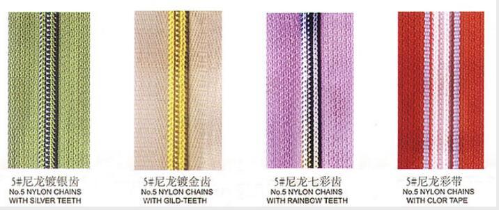 Nylon Zipper Chain
