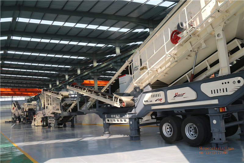 Mobile Crusher Station 100 Ton Per Hour