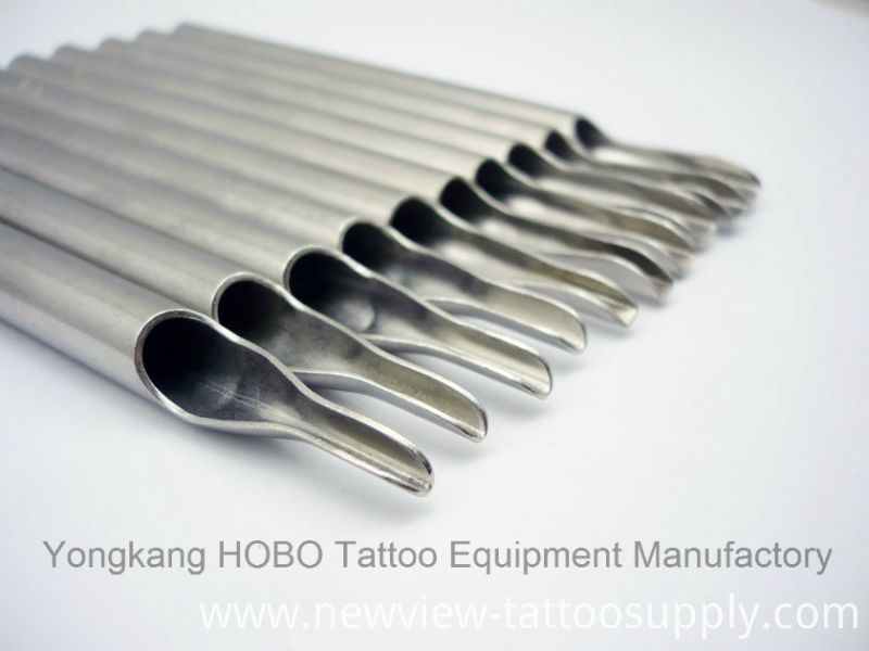 Professional Long Stainless Steel Tattoo Grips Tattoo Needle Tips