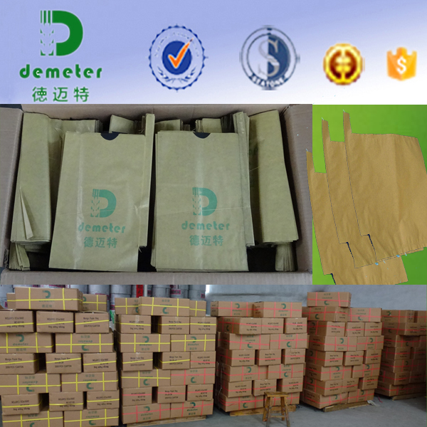to Increase Sugar Preserved in Fruits Moisture-Penetrability Fruit Growing Paper Bag with Different Size Cheap Price