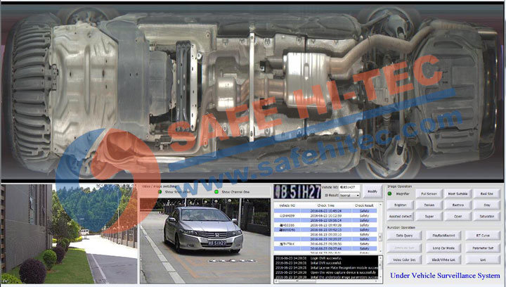 UVSS Under Vehicle Search Surveillance System for Vehicle Security Protection SA3300