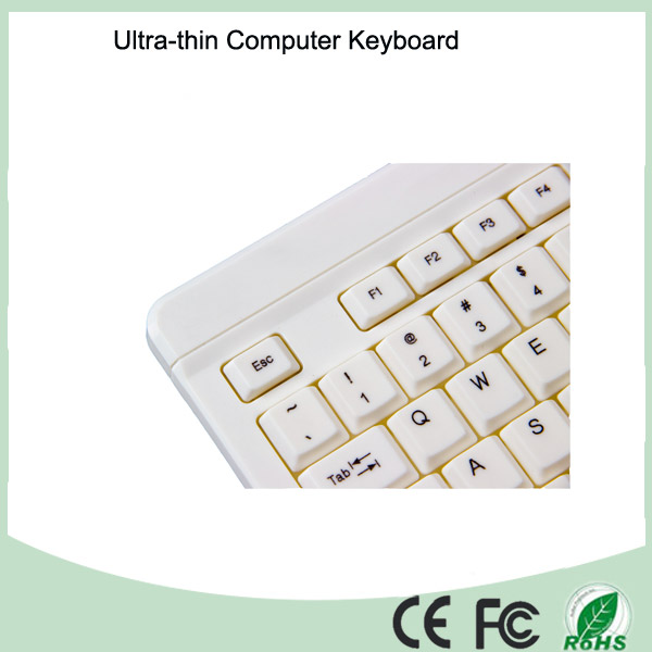 Discount Wholesale High Quality Super Slim Wired Desktop Keyboard