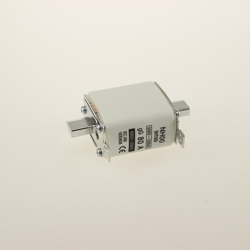 Yumo Nh00 80A Filler Closed Tube Type HRC Low Voltage Fuse Link