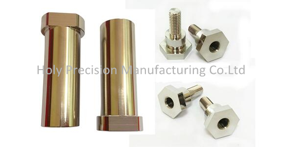 Brass Housing CNC Milling Machining Withe Nickel Plated