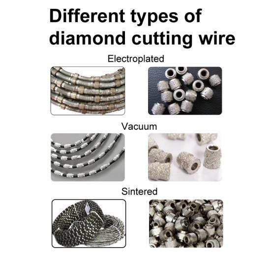Gushi Diamond Wire Saw for Cutting Concrete, Marble, etc