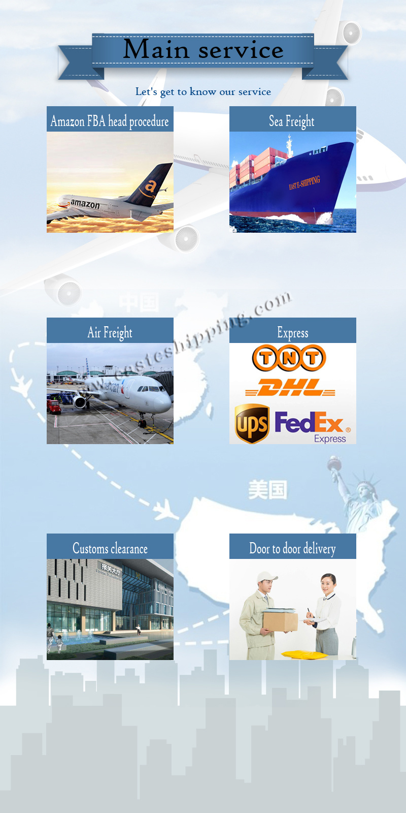 Combined LCL Shipping to USA
