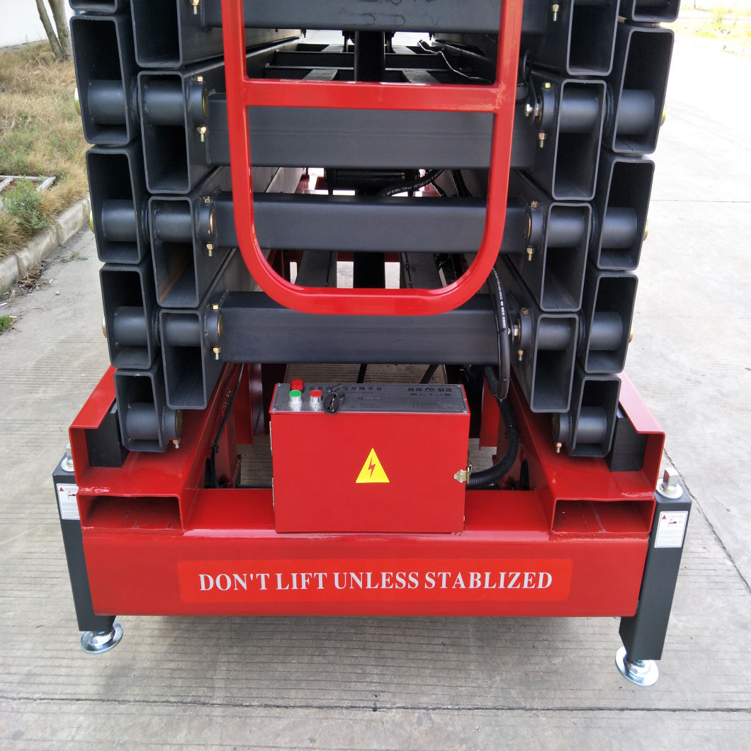7-16 Meters Hydraulic Man Lift with Ce Certificate