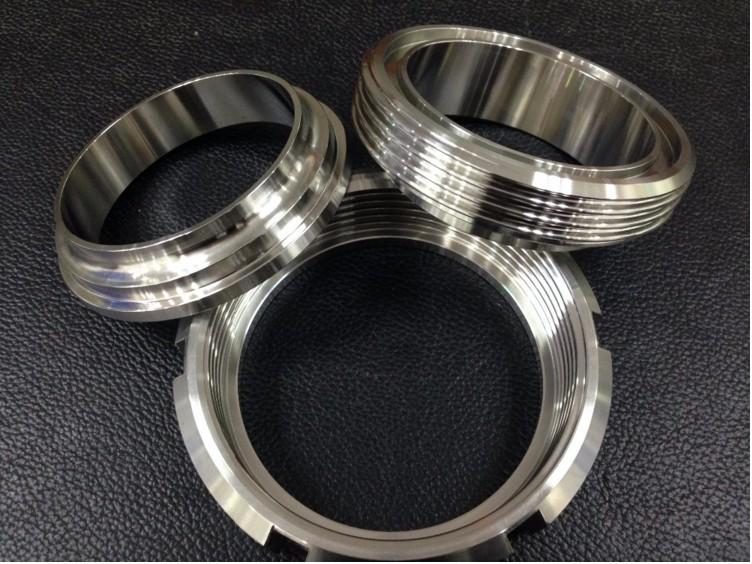 Stainless Steel 304 316L Sanitary Male Union with Gasket
