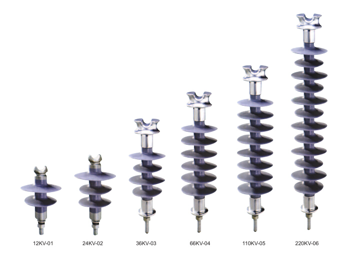 33kv 35kv 36kv Composite Pin Type Insulator/Polymer Line Post Insulator